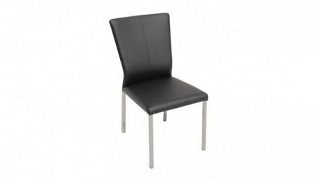Stuhl ALEXA Textilleder schwarz