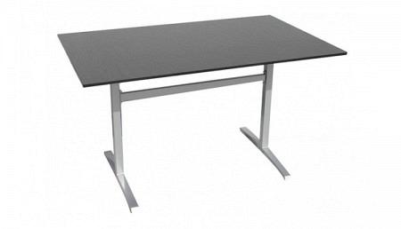 HPL Table de jardin 80 x 130 cm en 2 couleurs