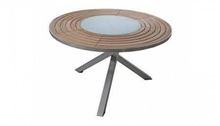 Teak Tisch Rund 120 Cm